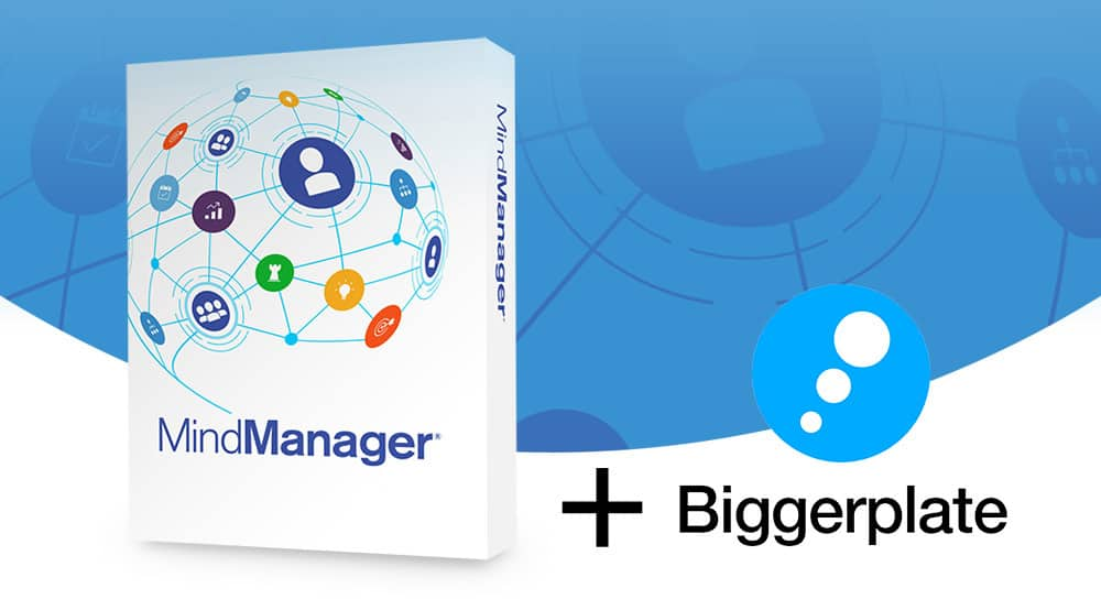 MindManager 21 and Biggerplate